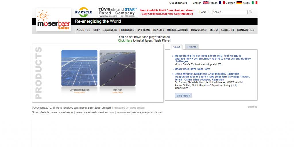 Moser Baer Solar Ltd